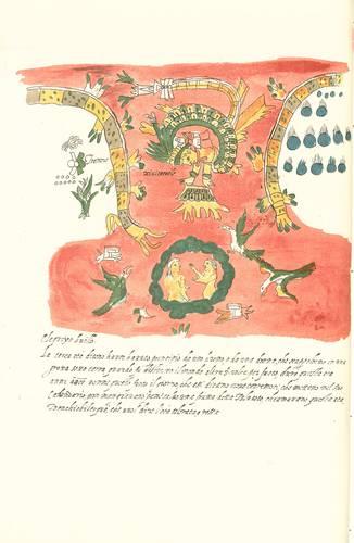 El Códice Vaticano A es un libro realizado en formato europeo conforme a la tradición renacentista, con pinturas mexicanas, glosas en náhuatl y textos explicativos en italiano.