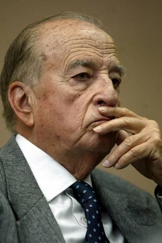 El ex rector de la UNAM Pablo González Casanova (imagen de archivo) participó en una conferencia organizada por estudiantes de la FES Cuautitlán.