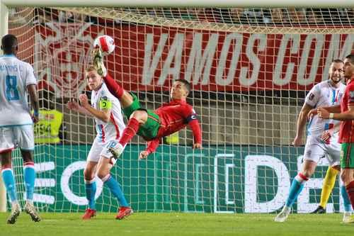 Cristiano Ronaldo amplió a 115 su récord de dianas con los lusos tras la victoria 5-0 sobre Luxemburgo.