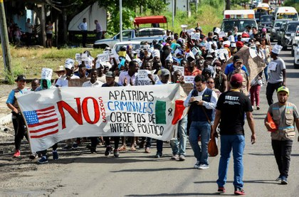 AFP migrantes africanos en Chiapas piden libre paso a EU.jpg