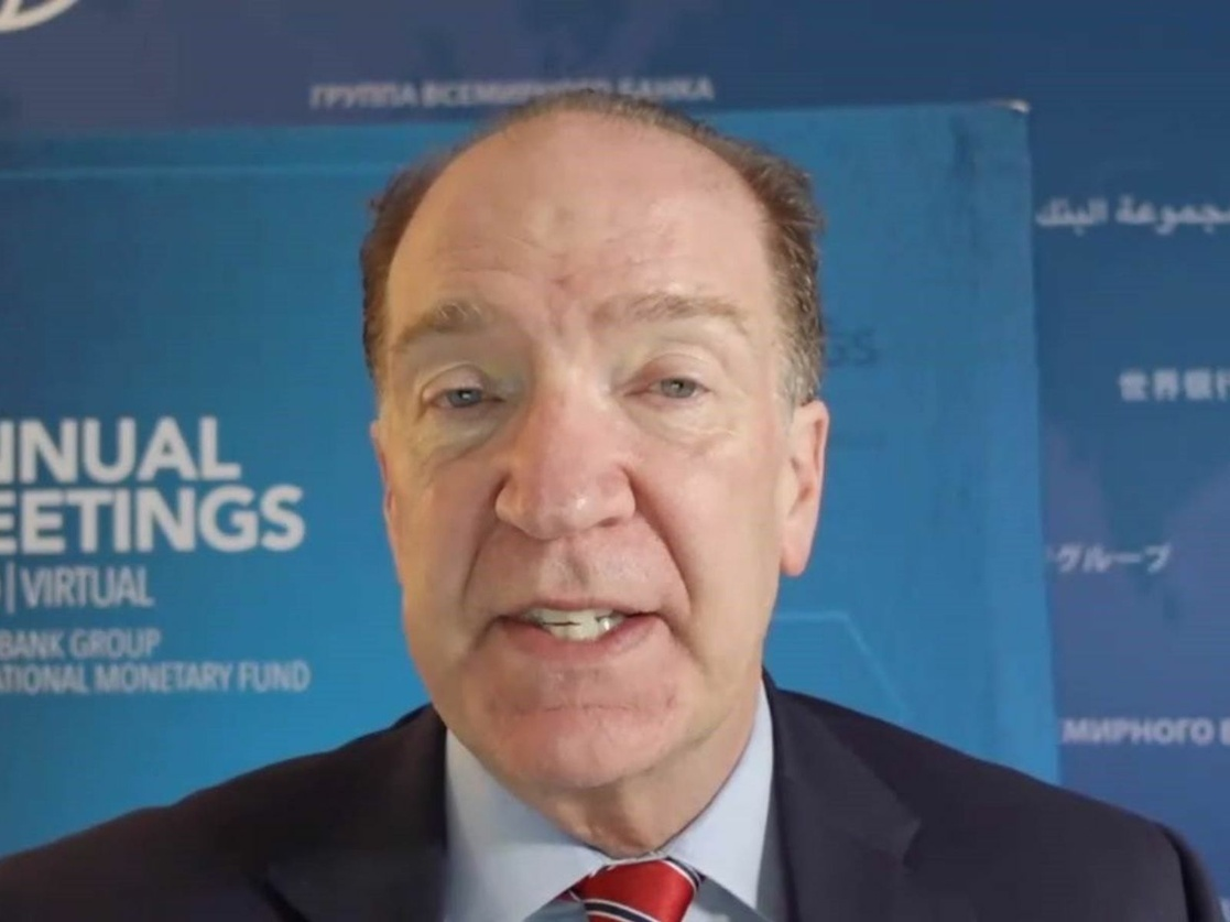 David Malpass, presidente del Banco Mundial.