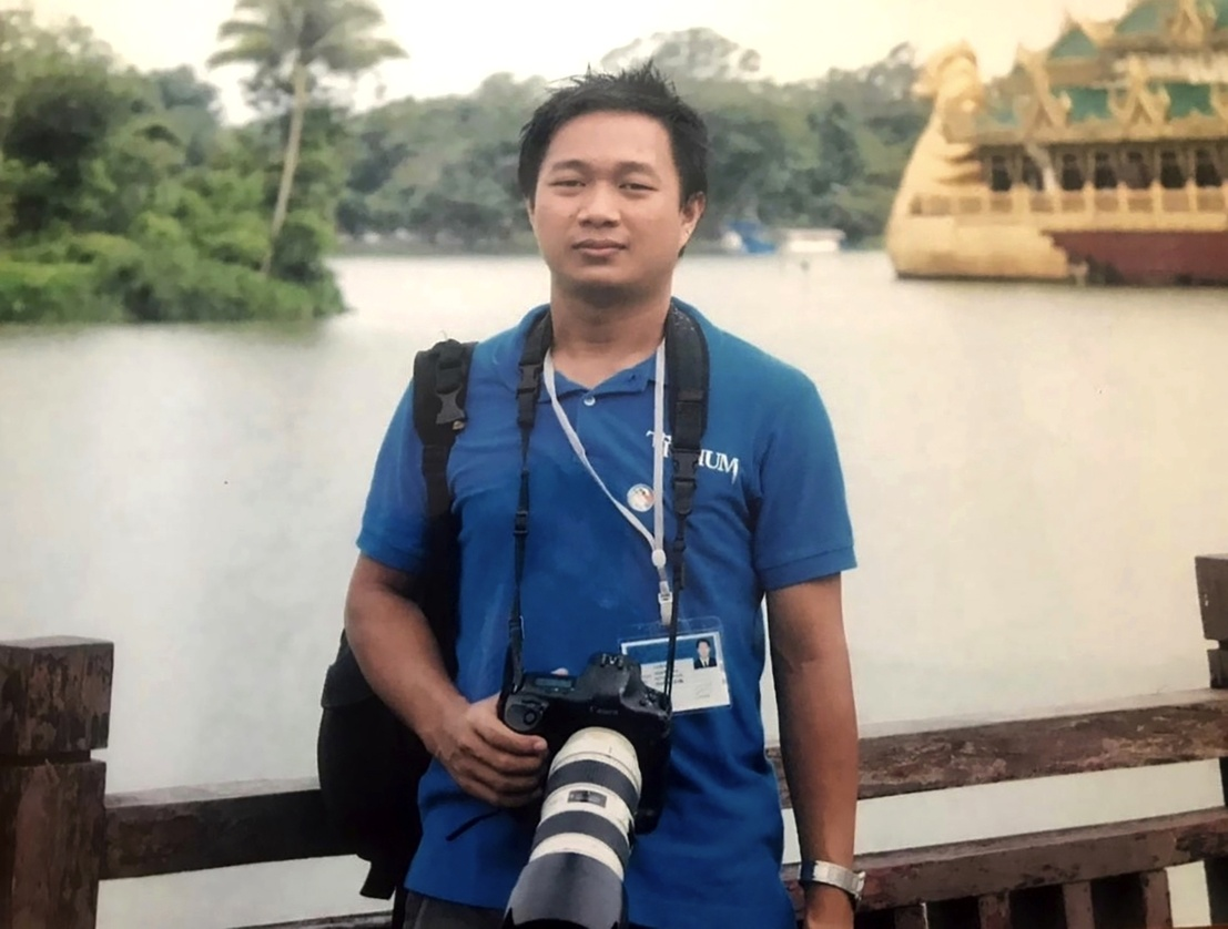 La Sociedad de Periodistas Profesionales pidió que Myanmar libere al periodista de The Associated Press, Thein Zaw.