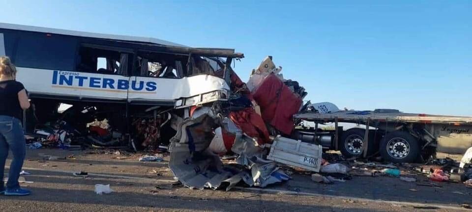 The collision occurred at 4:30 a.m. at kilometer 38 of the Sonoyta-San Luis Río Colorado highway section, on September 2, 2021.